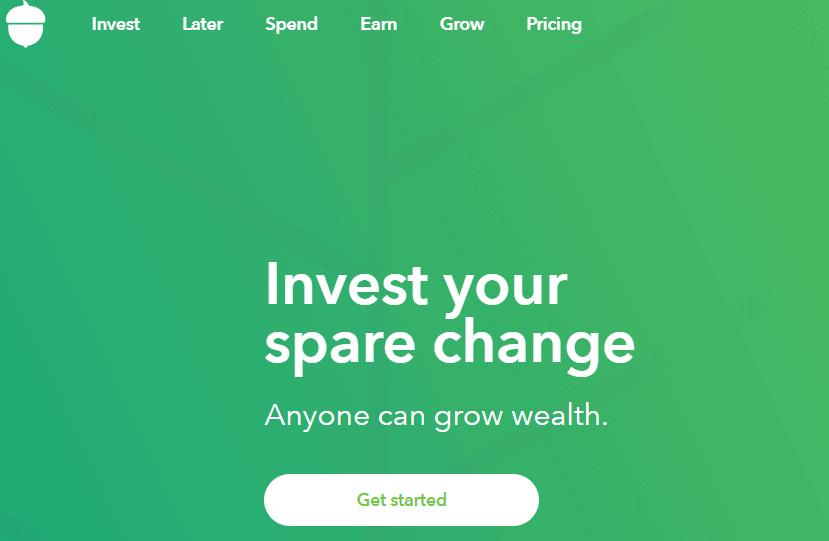 Invest with Acorns