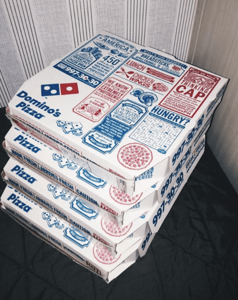 Best Pizza Franchise-Domino's Pizza Box