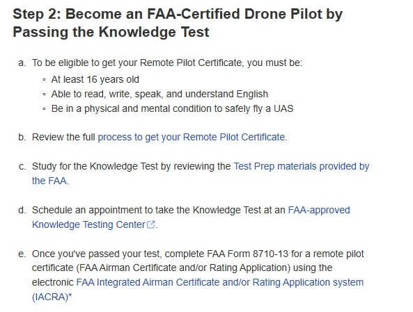 FAA regulations