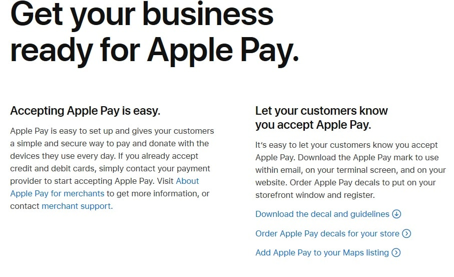 Apple Pay Payments