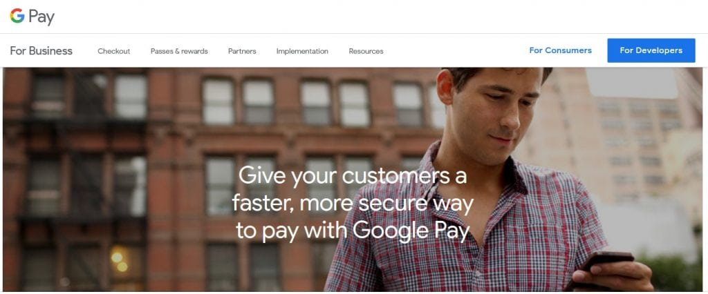 Google Pay Payments
