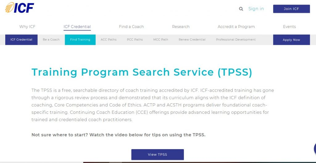 TPSS Life Coach