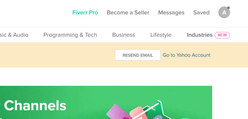 Creating a Fiverr Gig