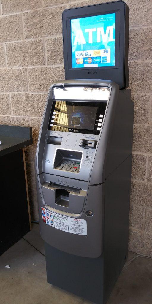 Freestanding ATM