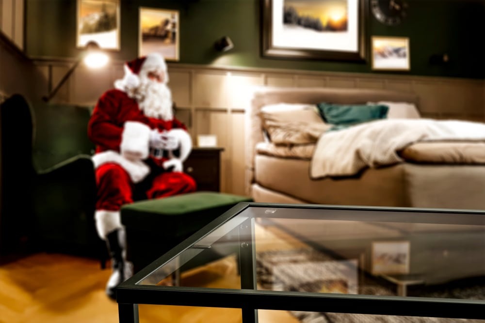 Furniture Shopping with Santa