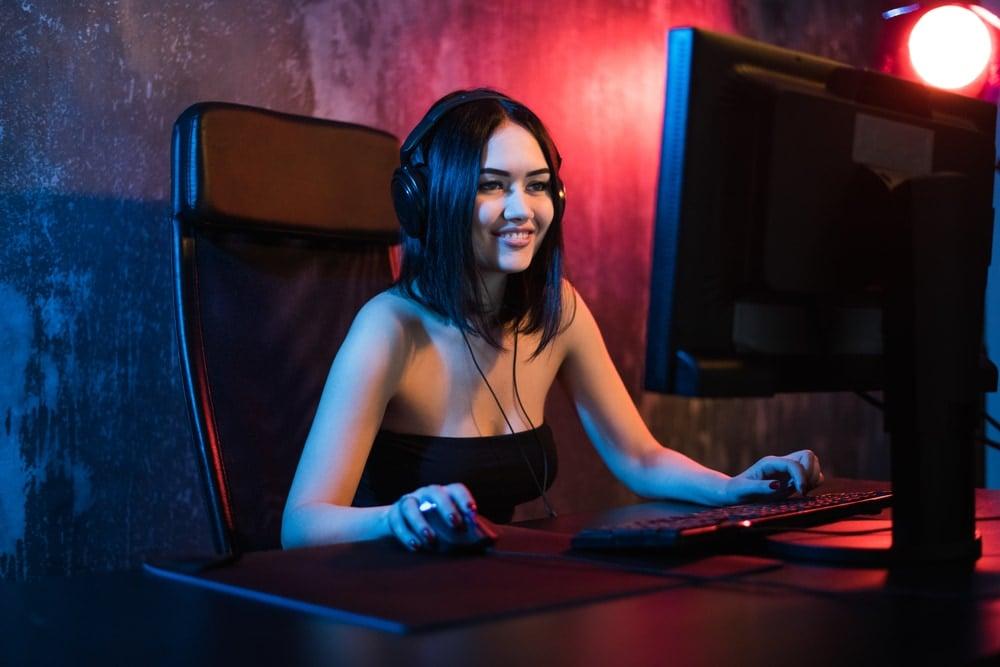 Gamer on twitch