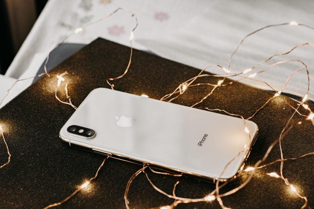 iPhone Lit Up