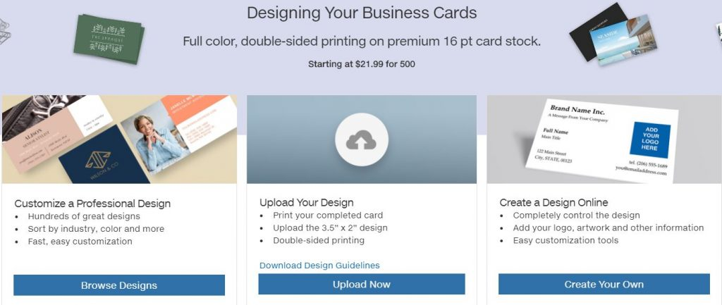 Costco Business Cards