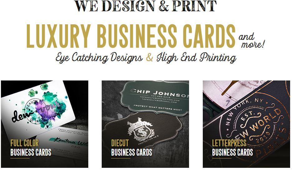 Taste of Ink Business Cards