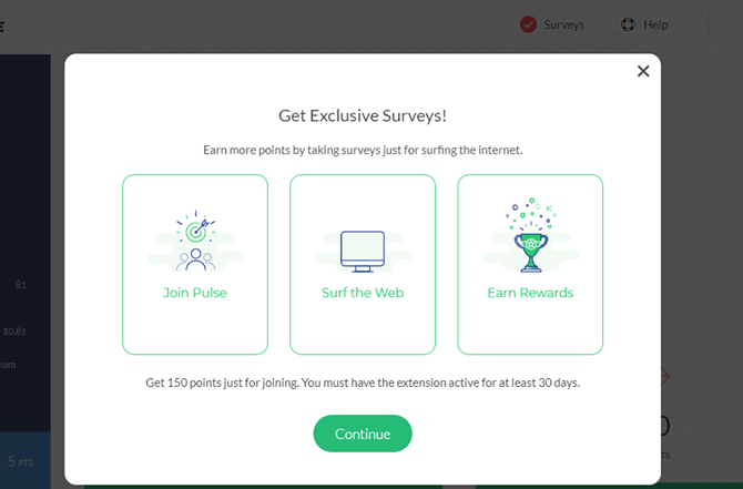 Survey Junkie Chrome Extension