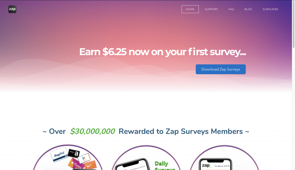 Zap Surveys