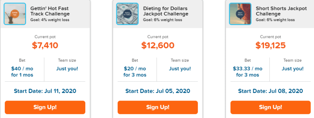 HealthyWage Challenges