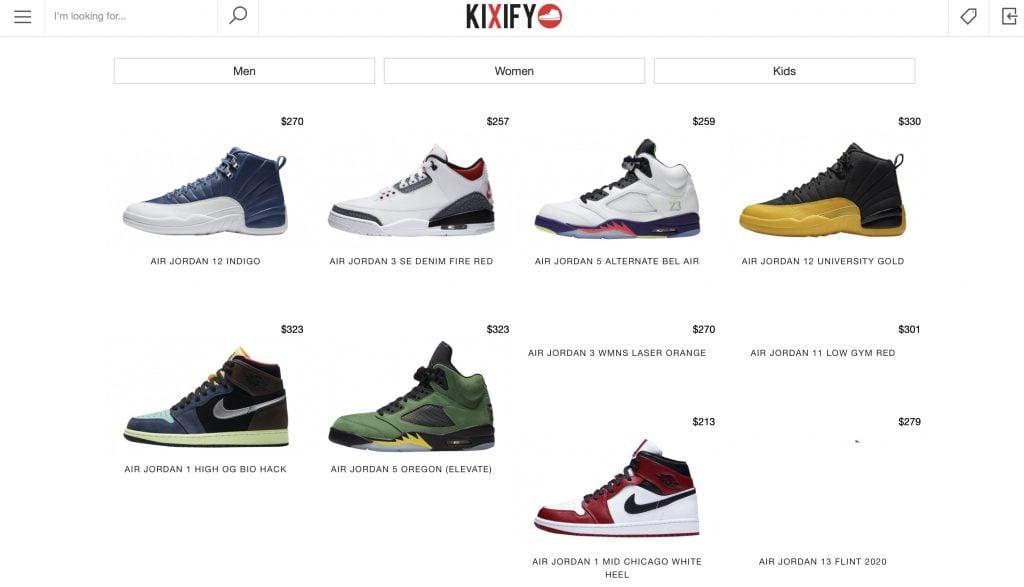 Kixify website