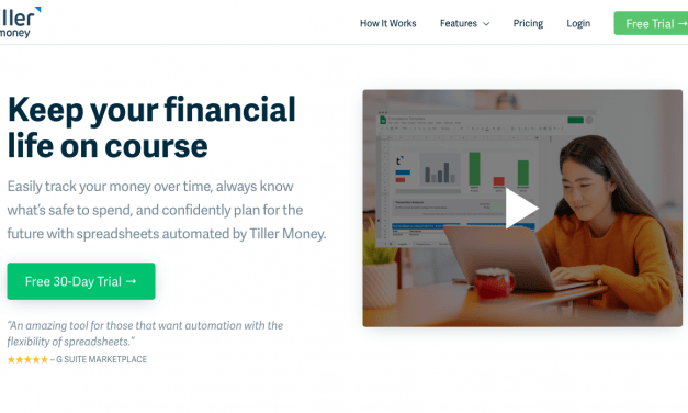 Tiller Money Review – Do You Need A Personal Finance Spreadsheet?