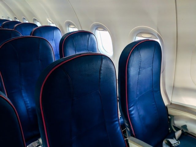Economy class flight